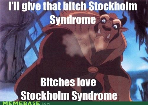 beast beauty disney Ladies Love stockholm syndrome - 4834560512