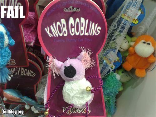 Cats failboat innuendo stuffed animal toys - 4834871040