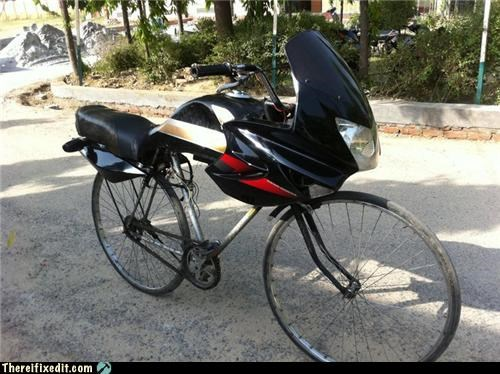 bicycle bike dual use motorcycle - 4835021312
