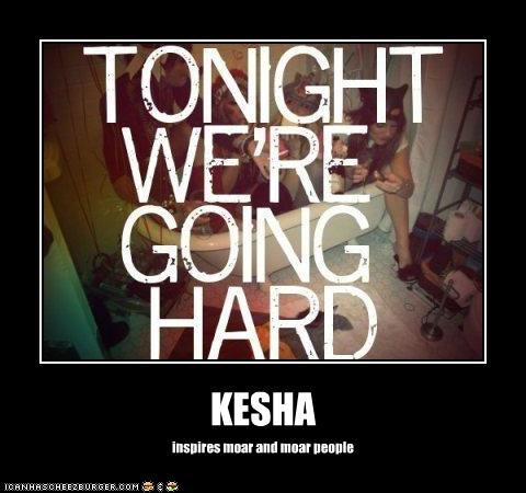KESHA inspires moar and moar people