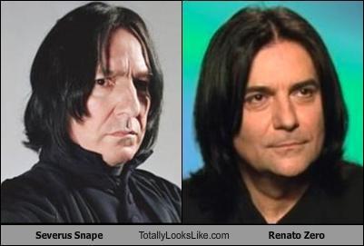 actors Alan Rickman Harry Potter musicians Renato Zero Severus Snape - 4835082752