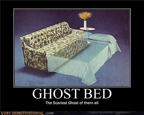 bed ghost scary Terrifying
