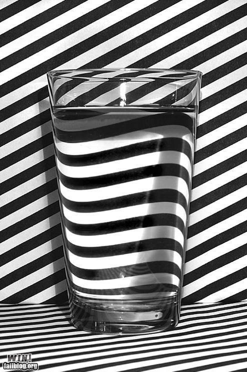 design,glass,illusions,Illusions Michael,stripes,water