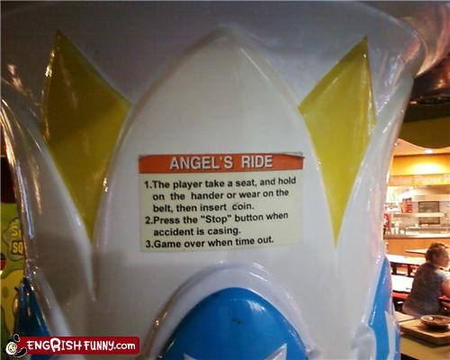 angel ride toy wtf