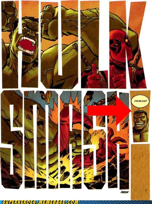 deadpool hulk smash Straight off the Page thumbs up - 4835650560