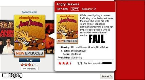 angry beavers,computers,description,failboat,g rated,internet,Movie,netflix,technology