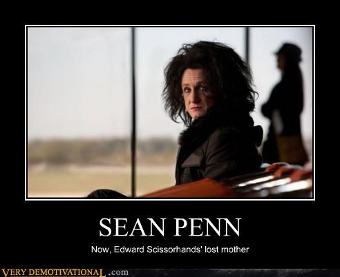 Edward Scissorhands hilarious Movie Sean Penn wtf - 4836359424
