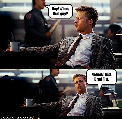 actor brad pitt celeb comic funny panel - 4836618496
