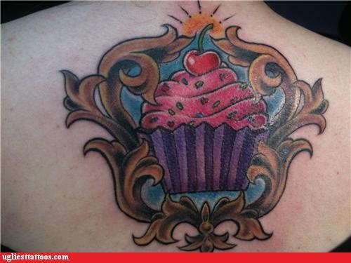 cupcake food back - 4837297408