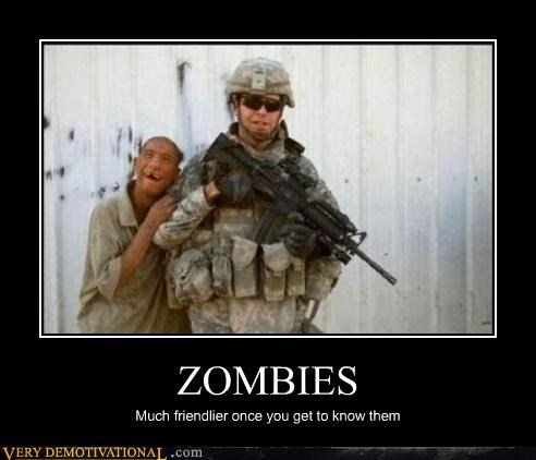 hilarious soldiers war wtf zombie - 4837343488
