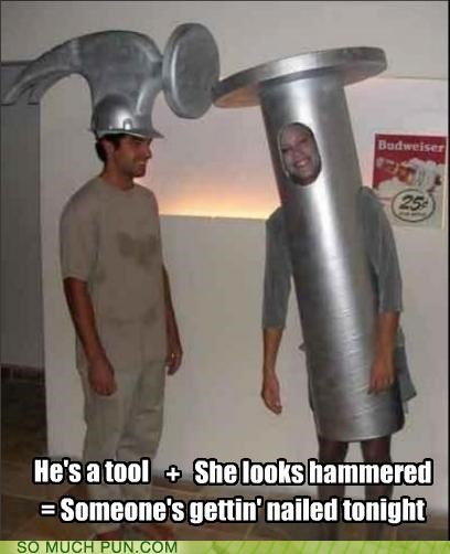 costume double entendre equation hammer hammered innuendo literalism math nailed tool - 4837705472