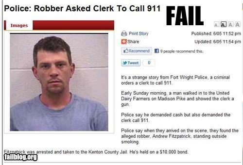 failboat g rated Probably bad News robbery stupid criminals - 4838199040