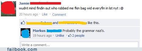 grammar,spelling correcting grammar nazis