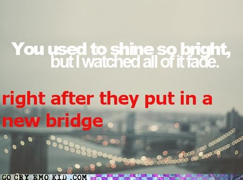 bridge,hipsterlulz,lights,ruined