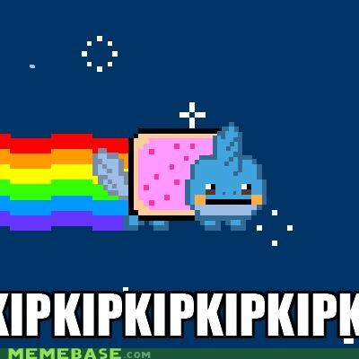 mudkipz Nyan Cat Pokémon remix space - 4838820608