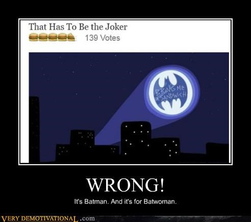 Bat signal comics hilarious wrong