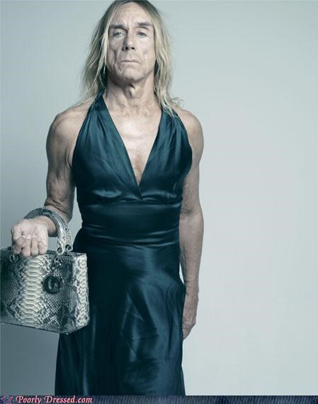 cross dressing,dress,iggy pop,testingzone