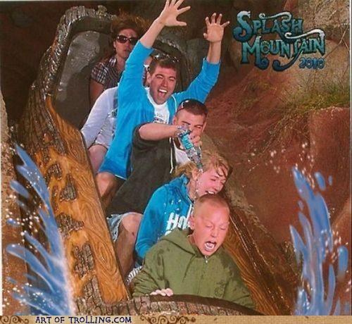 IRL ride splash mountain water - 4839050752