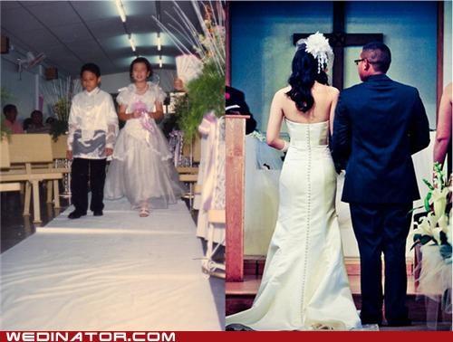 bride children funny wedding photos groom Hall of Fame - 4839161600