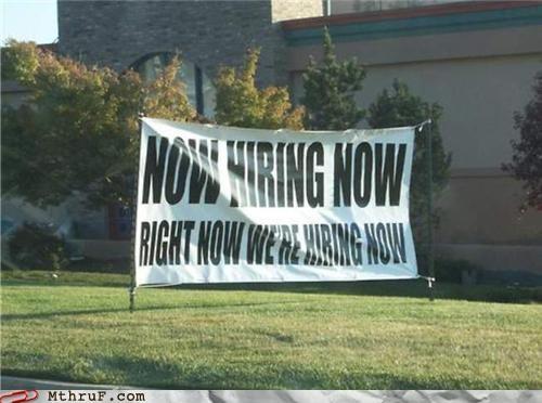 advertisement banner hiring - 4839267584