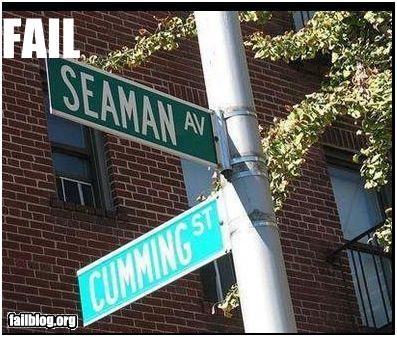 classic failboat innuendo intersection street names - 4839282944