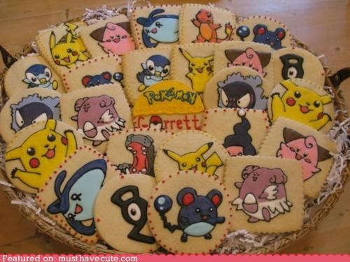 characters cookies epicute game Pokémon - 4839351808