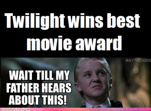 Awards eclipse funny gifs Hall of Fame movies mtv twilight wtf - 4839501056