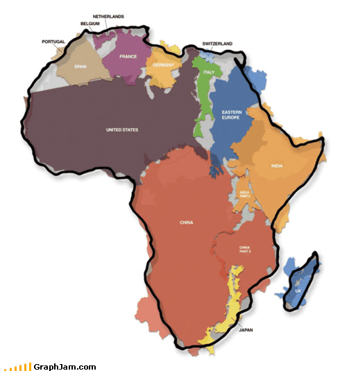 africa continents cool map Maps - 4839721216