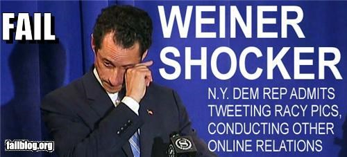 Anthony Weiner failboat news p33n package politics Probably bad News - 4839739392