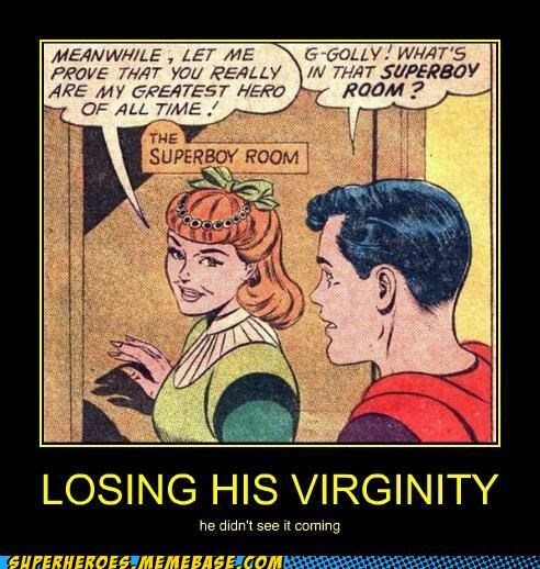 sexy times Super-Lols superman virginity wtf - 4839834624