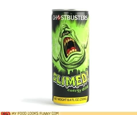 commercial energy drink Ghostbusters he man nasty slime slimed slimer