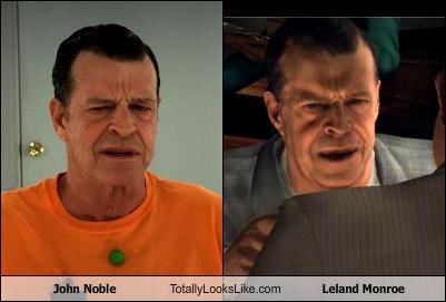 actors australian Fringe John Noble LA Noire leland monroe video games