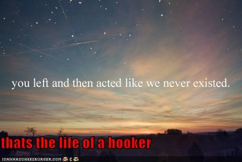 thats the life of a hooker