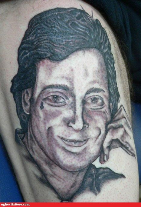 celeb pop culture portraits tattoos with tattoos - 4840406272