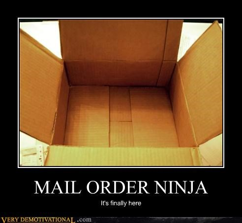 awesome invisible mail order ninja Pure Awesome - 4840470784
