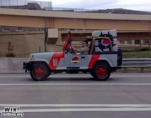 cars jeep nerdgasm Portal video games - 4840628992