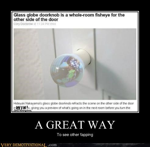 door knob fapping invention Pure Awesome wtf - 4840674304