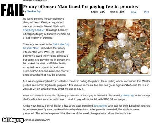 bank failboat g rated headline money Probably bad News puns - 4840819968