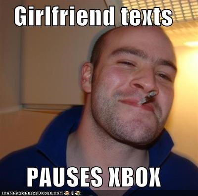 girlfriend Good Guy Greg good-guy-greg-xbox player texts - 4841057792