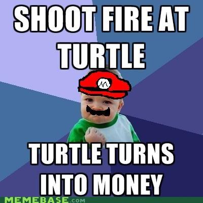 coin health mario money success kid turtle video games - 4841259776