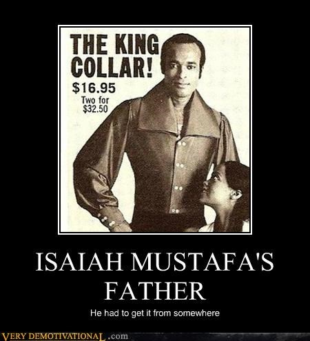 Ad collar Father Isaiah Mustafa Pure Awesome - 4841473280