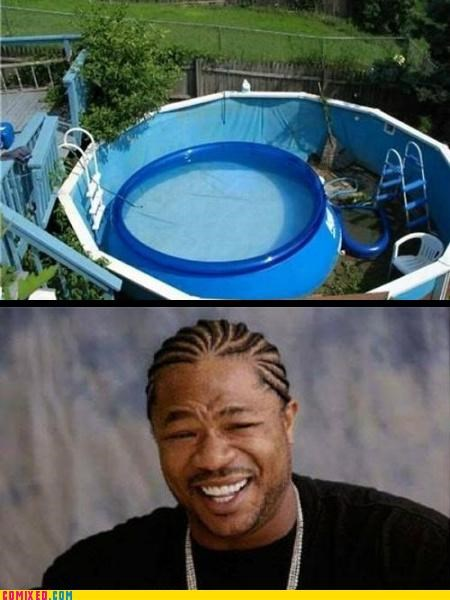 Inception,pool,Xxzibit,Xzibit,yodawg