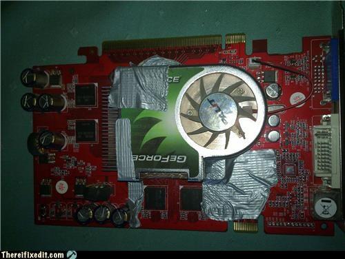 bad puns computer repair duct tape gpu - 4841828352