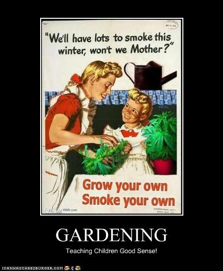 GARDENING Teaching Children Good Sense!