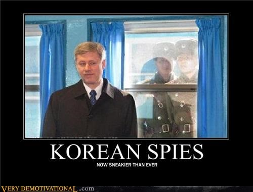 behind you hilarious korean spies sneaky wtf - 4842086144
