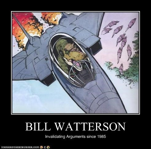 BILL WATTERSON Invalidating Arguments since 1985