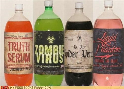 dark,evil,labels,scary,soda,spooky