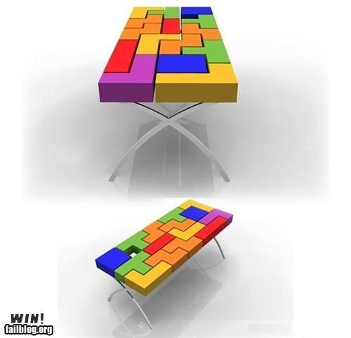 design,furniture,nerdgasm,table,tetris