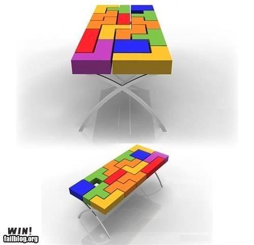 design furniture nerdgasm table tetris - 4842208768