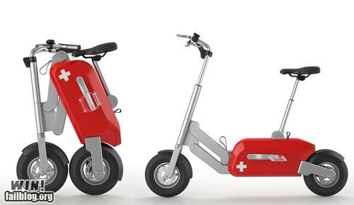 design scooter swiss army vehicles - 4842223616